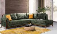 Modern corner sofa small size with lounge l shaped corner sofa