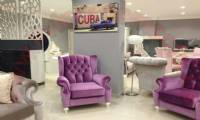 modern luxury chair design purple velvet fabric chair for living room design ideas