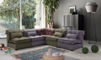 Modern New Design Corner Sofa Relax Living Room Design