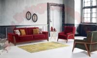 Modern Sofa Set Beautiful Vibrant Colors