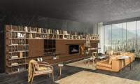 Modern TV Stands and Entertainment Centers Luxury Design