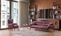 modern wooden sofa furniture sets designs for small living room leather