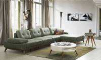 New L shaped modern sofa Sectional sofa also can convert in bed
