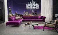 New York Style Modern Luxury Chesterfield Corner Sofa