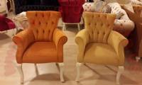 Orange and Yellow Chairs unique luxury chair design