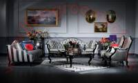 Pasha Art deco living room sofa set Handwork Elegance design