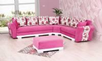 Pink Modern corner sofa contemporary modern corner sofa