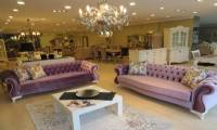 Purple Tulip Chesterfield Sofa Set Velvet Cool design
