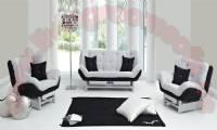relax modern living room black and white