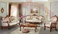 retro classical living room design traditional sofa set