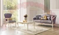 retro modern classical living room set