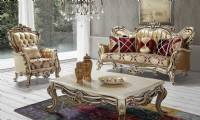 Royal Style Living room luxury french sofa set antique classical sofa