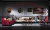 Royalty Luxury Classical Sofa Set Exclusive Living Room Design