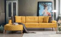 Sectional sofas are actually a very comfortable and nice piece for Small Space