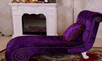 surprise your wife purple chaise lounge