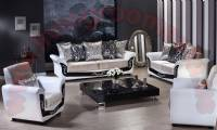 tulip living room sofa black and white