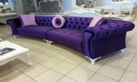velvet couches and loveseats purple new design luxury living room