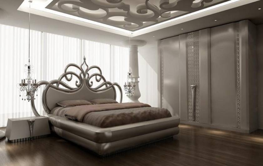 Ultra Modern Luxury Bedroom Furniture Sleeping Beauty Bedroom