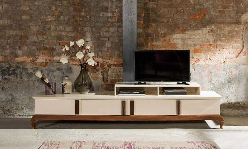 Vintage Modern TV Stand for small living room