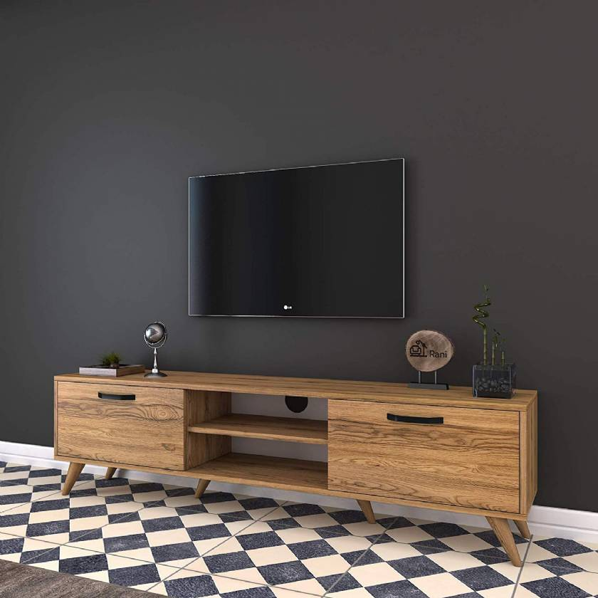 Wooden Modern TV Stand for Small living room