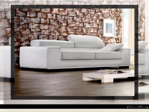 Modern Sofa, Cushioned Modern Sofa