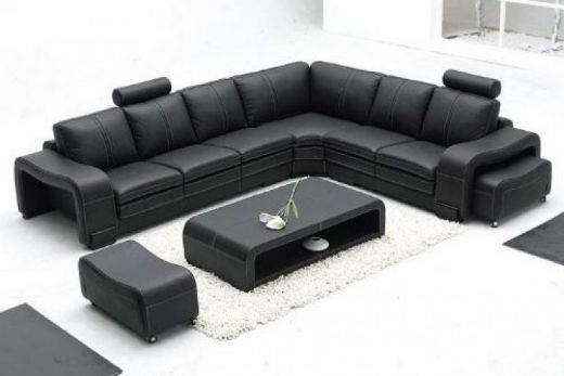 Modern Leather Sofa, Leather Corner Sofa