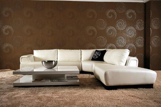 White Sectional Sofa Modern Design