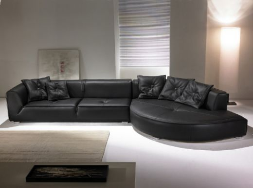 Brillant Leather Sofa, Living Room Leather Sofa