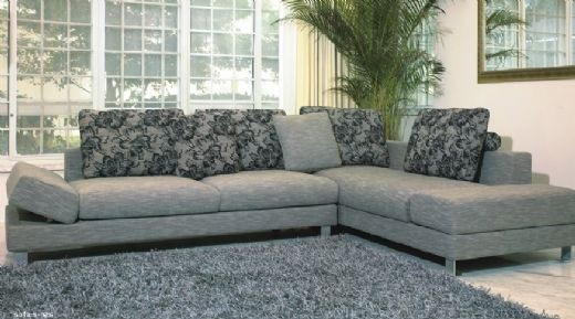Fabric Sofa, Living Room Fabric Sofas, Fabric Sofa Set, LIVING ...