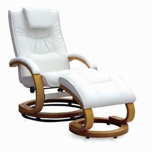 Rail Leather Recliner Chair