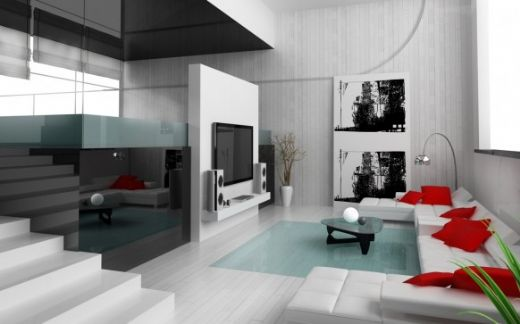 Living Room Design Modern House Decors