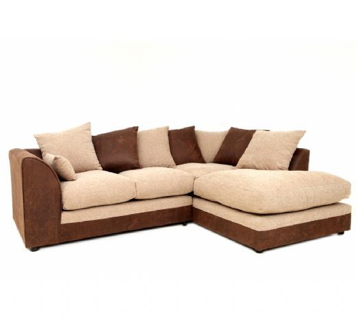 Fabric Sofas, Fabric Sofa With Puff Cushion