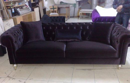 Chesterfield Fabric Sofa Chesterfields for living room