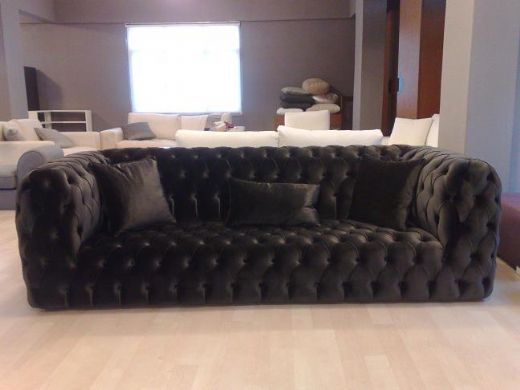 Chesterfield Contemporary Sofa Modern & Elegant & Business ...