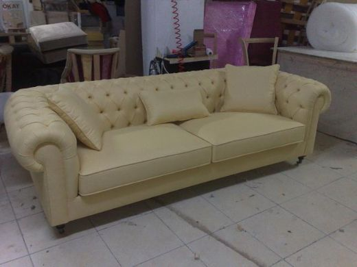 Chesterfield Sofas Traditional Leather Chesterfield Sofa