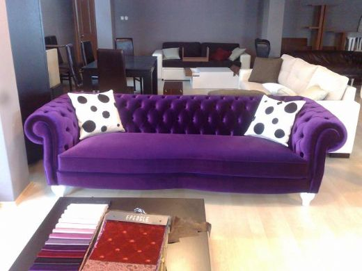 Vintage Chesterfield Sofa Classic Furniture Design