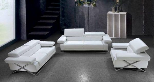 Modern Couches White Leather Couches Clearance Leather Couch