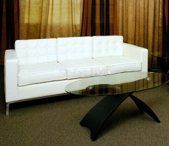White Leather Sofa Set, White Leather Sofa, White Leather Sectional, Modern  White Leather