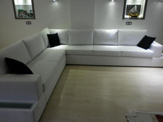 Modern sectional corner sofas living room discount for Living room ideas l shaped sofa