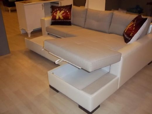 Sectional Sofa Bed With Storage Modern For Living Room