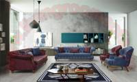 Los Angeles Luxury Sofa Set New Style Handmade Quilted Interior Designs