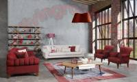 New Jersey Chesterfield Sofa Set Modern Interior Design