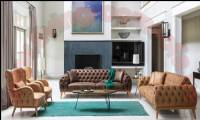 Santa Barbara Luxury Chesterfield Sofa Set Handmade Interior Designs