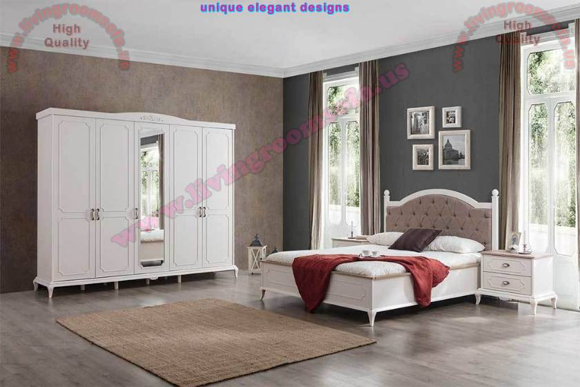 Avangard White Bedroom Furniture Sets