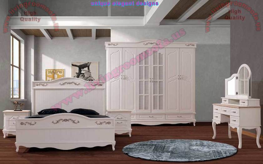 Avangard Wood Bedroom Furniture Sets