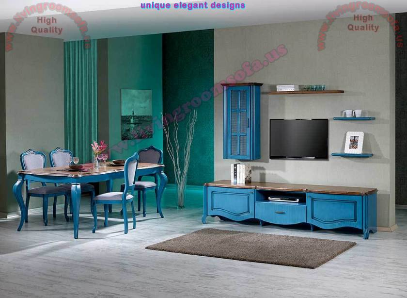 Blue Dining Room Sets Design Ideas Dining Room Table Chairs