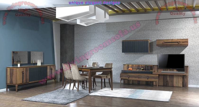 Brown Modern Dining Room Sets Design