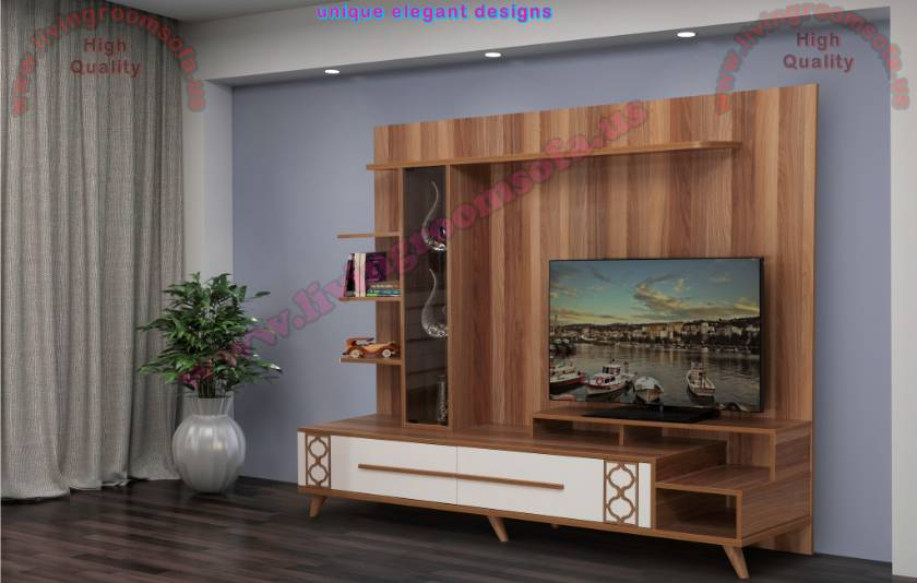 Brown Tv Stand Stylish Design Tv Units