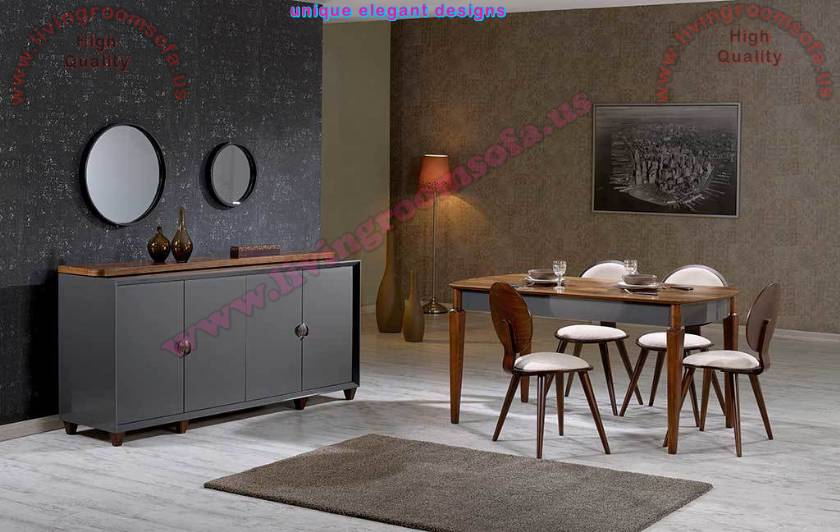 Dark Dining Room Furniture Sets Dining Table Decor