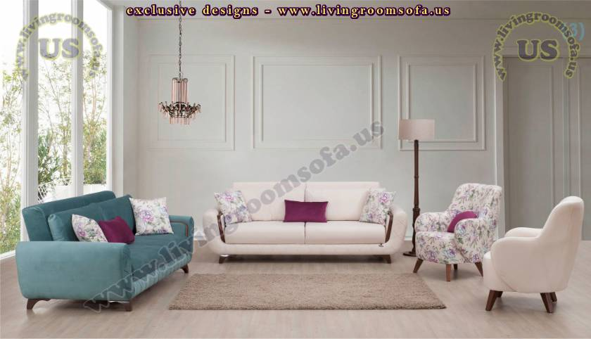Modern Design Living Room Special Oval Cut Sofa